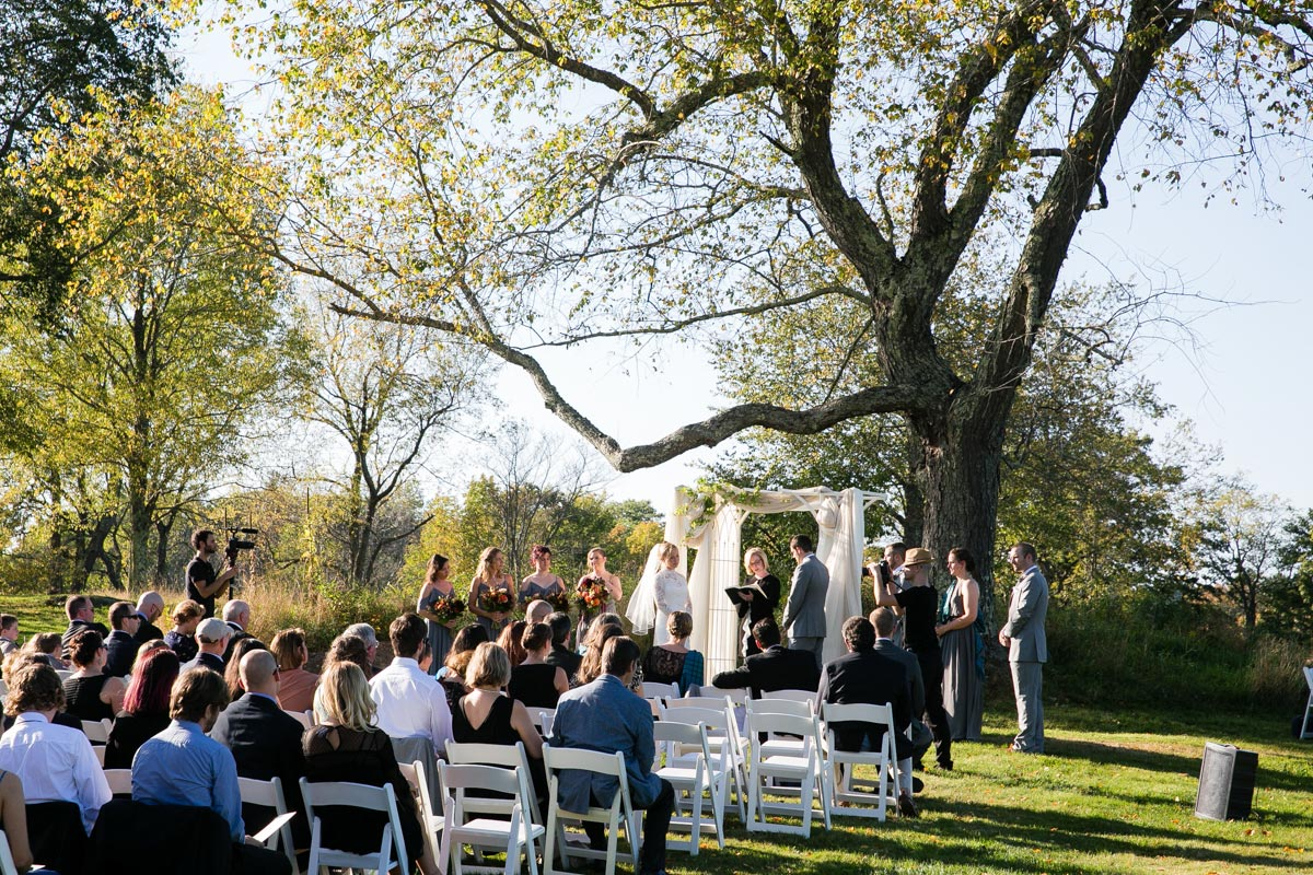 gedney farm wedding ceremony