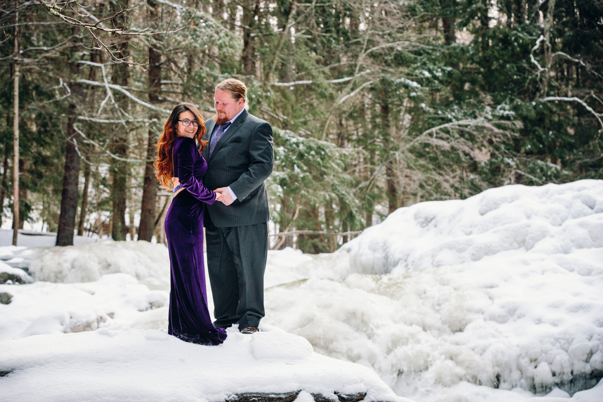 Engagement Session in the Berkshires